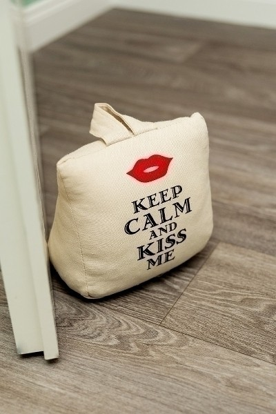 Türstopper Keep Calm and Kiss